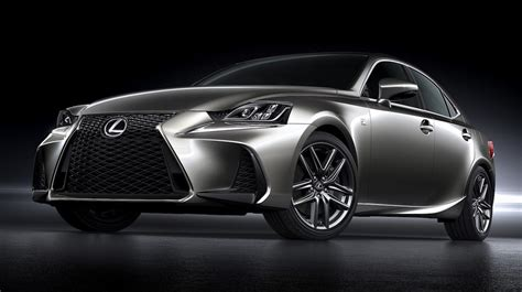 lexus is f sport 2017 2017 lexus is facelift revealed at beijing motor
