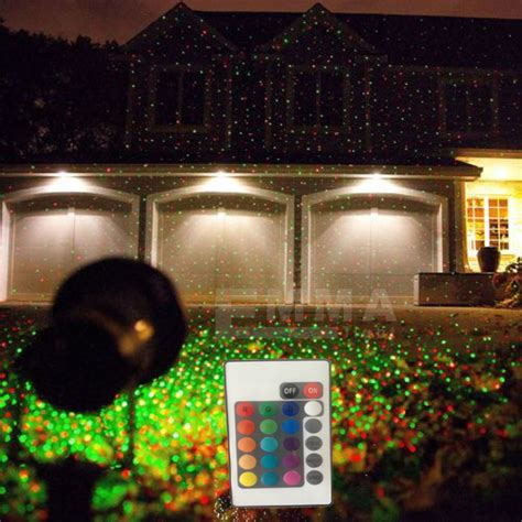 Light Laser Show House Projector by Modern Outdoor Indoor Gobos Green Laser