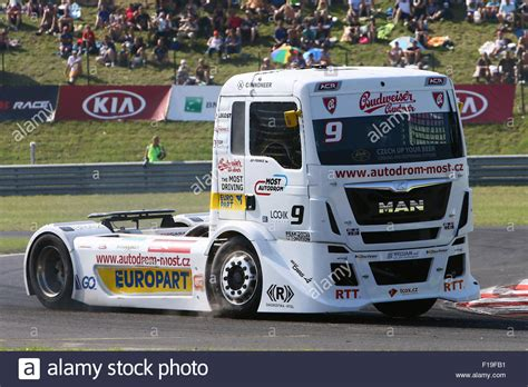 of truck racing most republic 28th aug 2015 fia european truck