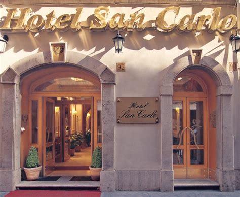 hotel san carlo via delle carrozze roma hotel san carlo vaticaanstad viamichelin informatie