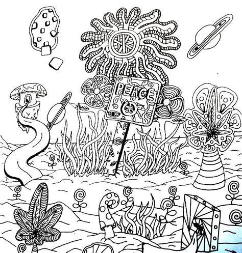 peace sign drawing andrew padula