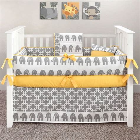 Custom Made Crib Mattress Custom Made Crib Mattress Fleur De Lis Bumperless Custom Made Crib Bedding With Rail Guard