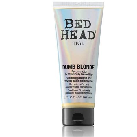 bed head dumb blonde conditioner tigi bed head dumb blond 200 ml