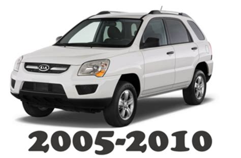 car repair manuals online free 2005 kia sportage free book repair manuals 2005 2010 kia sportage service repair manual download download