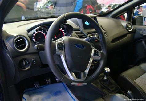 best auto repair manual 2012 ford fiesta head up display as 237 es el ford fiesta st una de las estrellas del sal 243 n del autom 243 vil de bogot 225
