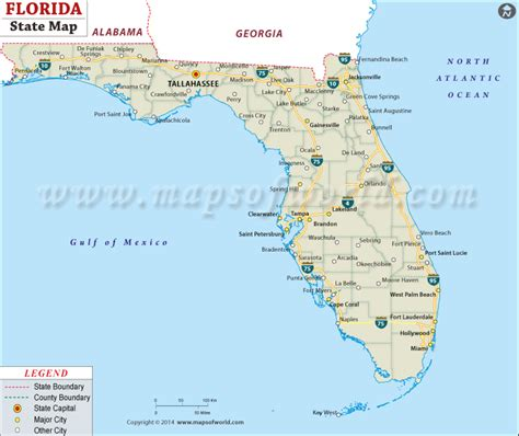 florida stae map buy state map of florida