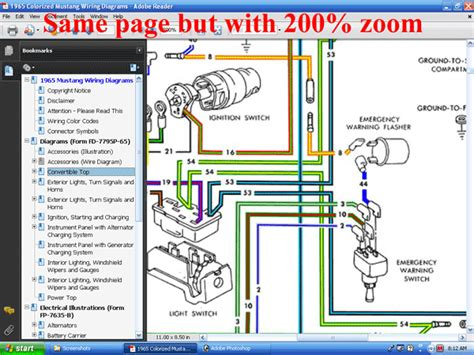 forel publishing llc  colorized mustang wiring diagrams digital