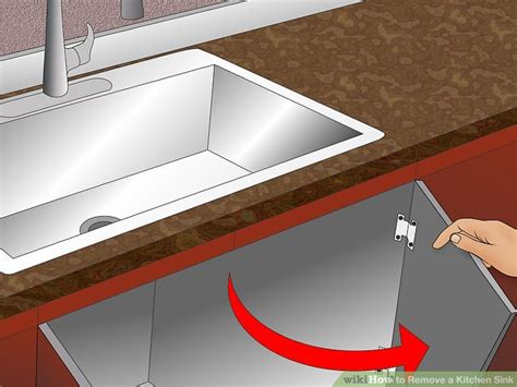 Remove A Kitchen Sink How To Remove A Kitchen Sink 14 Steps With Pictures Wikihow