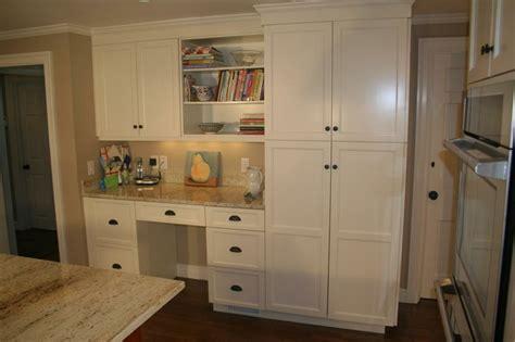 kitchen desks built in built in desk in the kitchen office desk areas