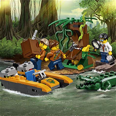 buy lego city jungle starter set   home bargains