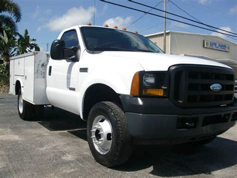 how does cars work 2006 ford f 350 super duty parking system sell used 2006 ford 6 speed 4x4 turbo diesel utility service great work truck in saint