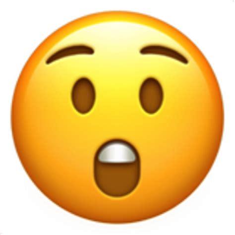 astonished face emoji uf