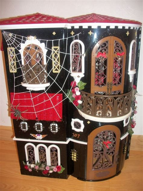 monster high school doll house custom ooak monster high school doll house for cupid operetta toralei draculaura
