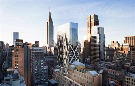 midtown s could this deconstructivist office tower be coming to the