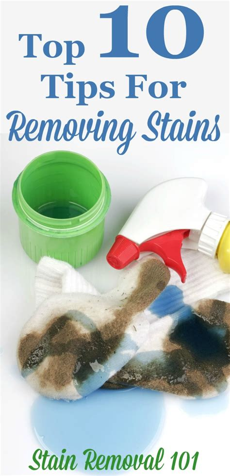 10 Best Stain Removal Tips by Top 10 For Removing Stains