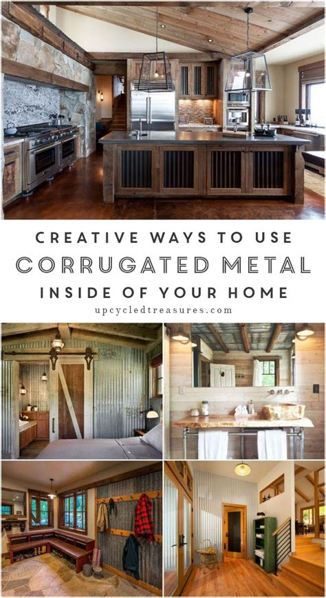 corrugated metal for home interiors heavy metal versus creative ways to use corrugated metal in interior design