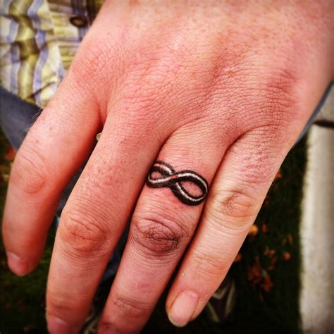 couple tattoo rings make a rocking by astonishing ring tattoos