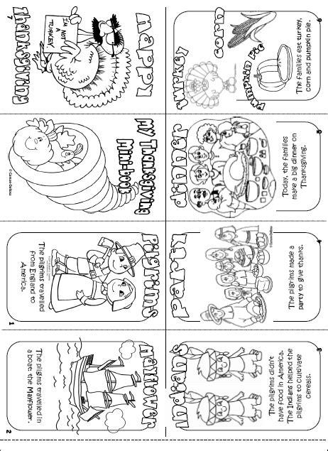 Printable Turkey Mini Books | prek by cori ann page 2
