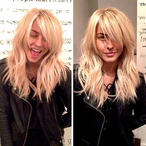 celebrity hair extensions trend elle celeb style julianne hough s new hair extensions