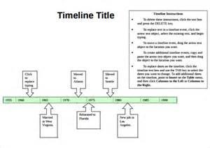 simple timeline template best photos of simple timeline template simple blank