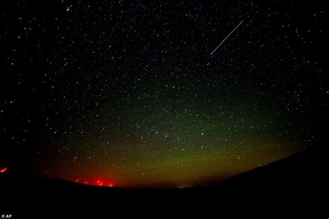 where can the northern lights be seen perseid meteor shower illuminates the night skies around