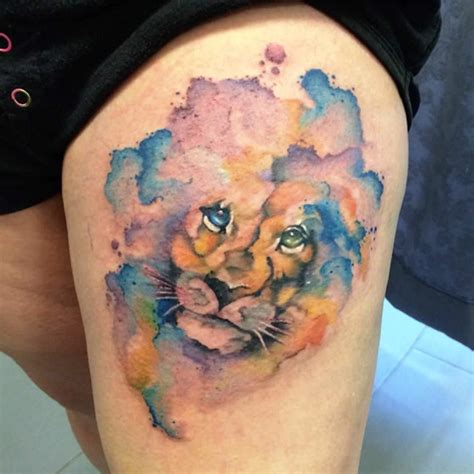 king queen lion tattoos tattoo ideas ink and rose tattoos