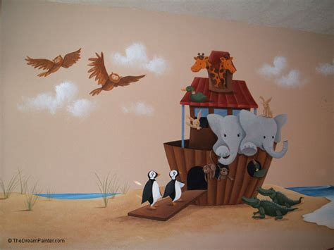 Wall Mural Pictures the dream painter noah s ark mural