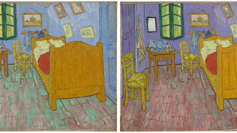 Gogh Bedroom Real The Walls In Gogh S Iconic The Bedroom Were Never