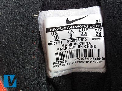 Nike Airmax Black Original Made In how to identify nike air max 1 sneakers