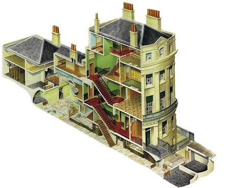regency house regency town house traditional layout for town houses domestic offices for servants