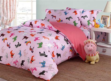 einhorn bettdecke lovely unicorn pattern cotton 4 duvet