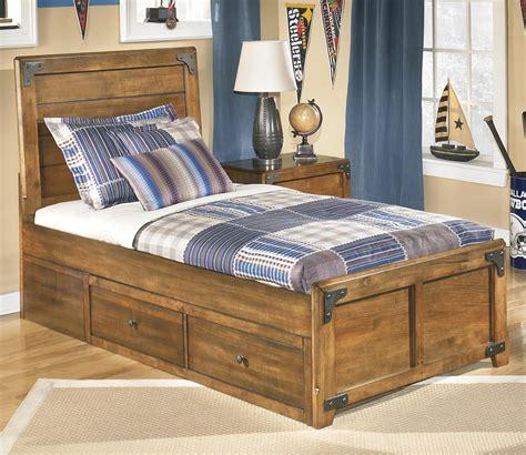 platform bed ashley furniture signature design by ashley delburne twin platform pedestal
