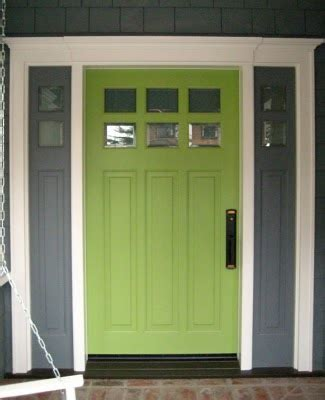 lime green front door 20 colorful front door colors four generations one roof