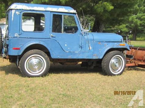1977 Jeep Cj5 For Sale 1977 Cj5 Jeep For Sale In Glennie Michigan Classified