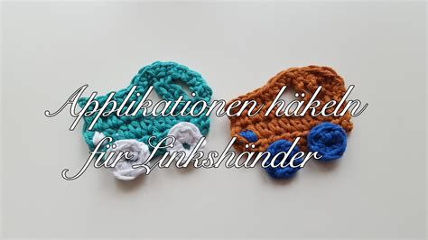 Kissenhülle Häkeln Anleitung by Applikation Auto H 228 Keln Applikationen Selber H 228 Keln