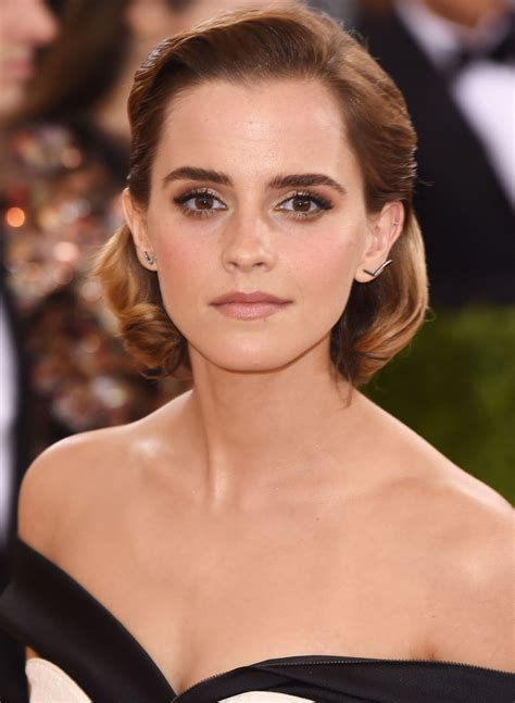 emma watson 2016 headshot lady emma pinterest sexy photos 2016 met gala style see the ball s best hair