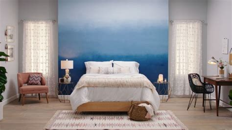 paint  beautiful ombre accent wall