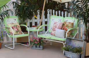 furniture retro patio furniture inertiahome vintage patio