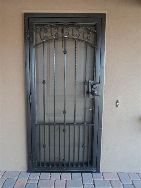 Securing Doors by How To Paint A Security Screen Door Http Www Ehow