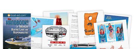 boating license in michigan kalkomey bookstore recreational safety handbooks