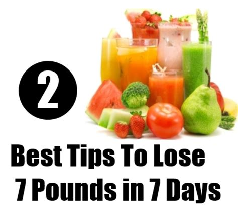 10 Pounds In 7 Days Detox by How To Lose Weight In 7 Days Lose Weight Detox Diet 7
