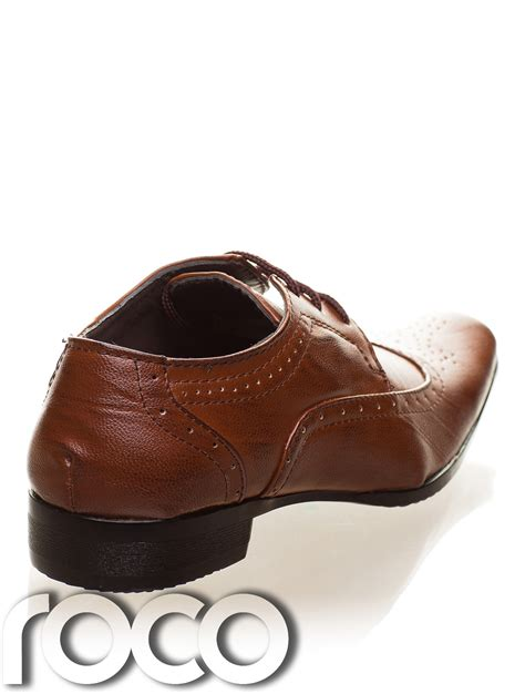 boys brown shoes boys brown brogues boys formal shoes