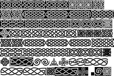 celtic pattern font identifont celtic knots ba