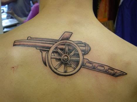 cannon tattoo 25 best ideas about arsenal on arsenal