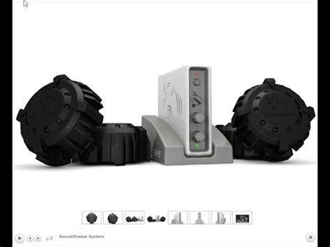 sound shaker bass amplifer  tactile transducers