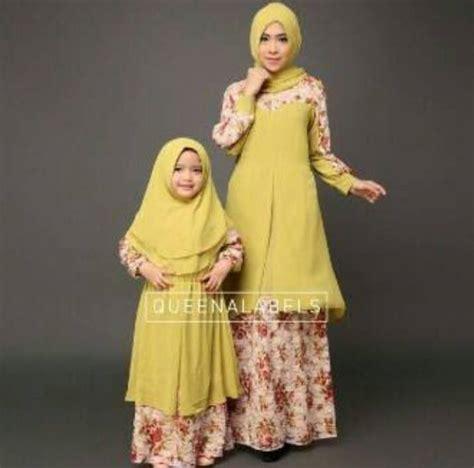 Gamis Pesta Kembaran Ibu Anak 39rayyana39 By Hawwaaiwa jennifa kuning baju muslim gamis modern