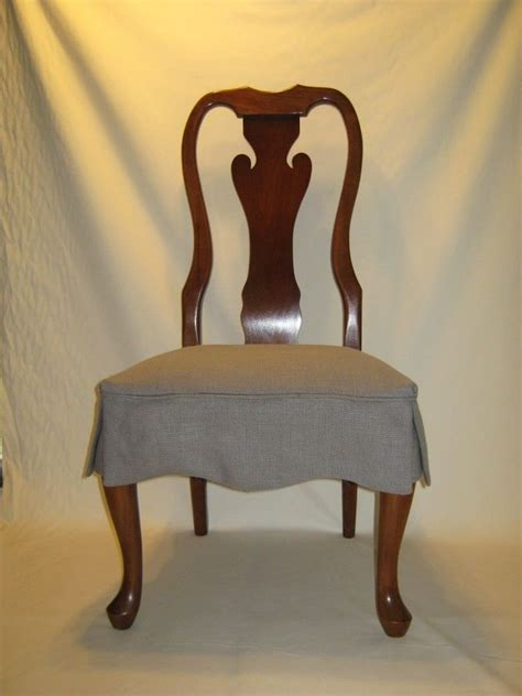 seat covers for dining chairs dining room brown varnished mahogany chair with gray