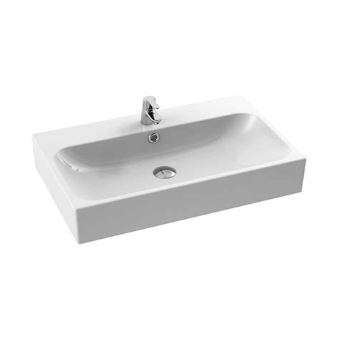 nameeks wall mounted sink nameeks pinto wall mounted bathroom sink in white