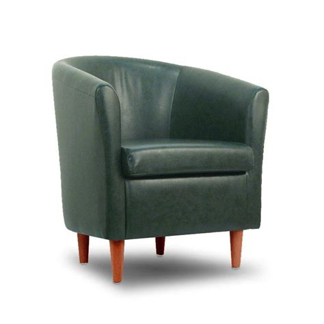 tub chairs and sofas leather tub chair conifer green