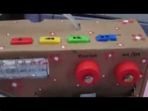 radio reciclable trabajo en reciclaje youtube